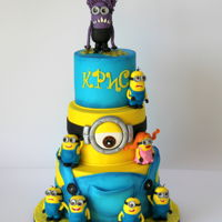 Minions Cake Minions cake! https://www.facebook.com/Sugar.Magic.by.An/