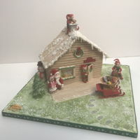 Santa'S Workshop Made this to help raise funds for a local Charity.