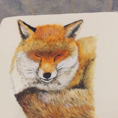 Painting A Fox On A Cake I've a new YouTube video out yesterday on painting this fox into a cake. It's easy it's fun and it's suitable for all...