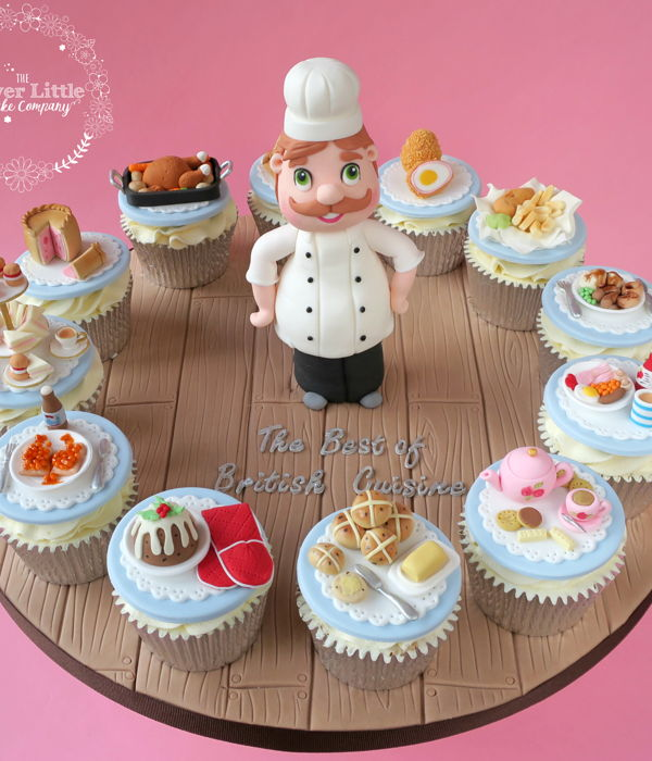 Little Chef Cupcakes