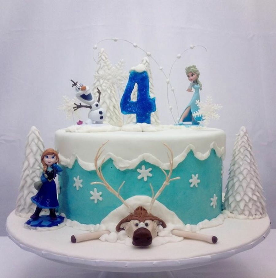 Frozen Theme Party on Cake Central