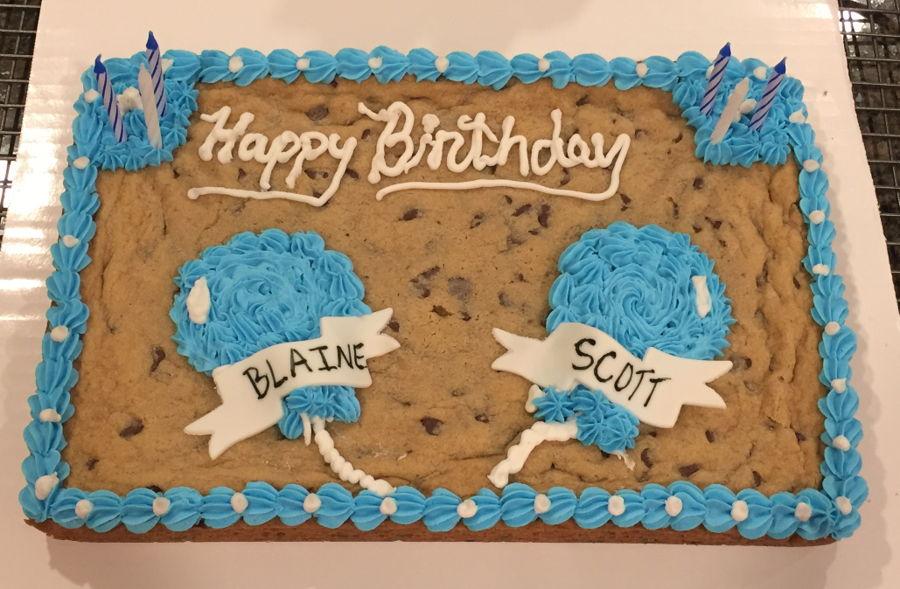 Excellent Happy Birthday Cookie Cake Cakecentral Com Funny Birthday Cards Online Alyptdamsfinfo