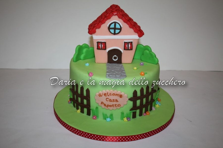 Home Sweet Home Cake on Cake Central
