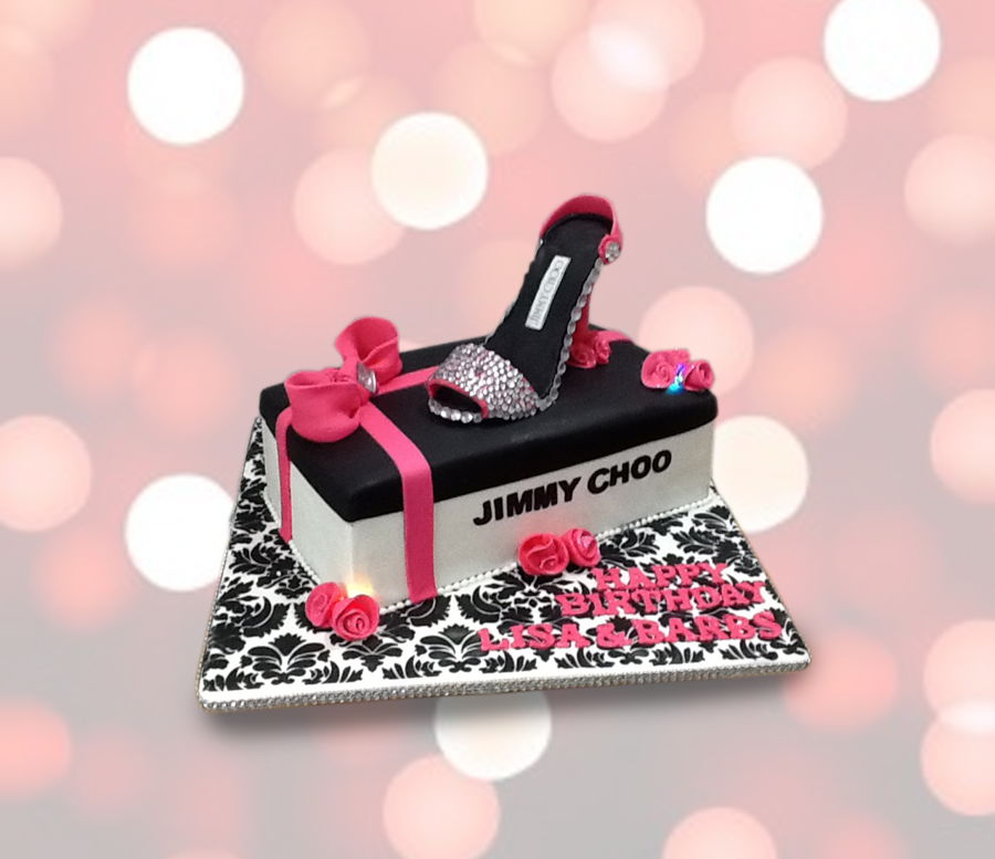 Jimmy Choo Shoe Cake on Cake Central