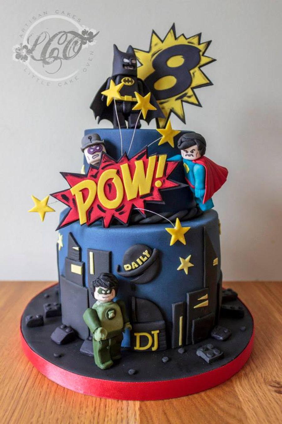 Lego Marvel Cake Cakecentral Com