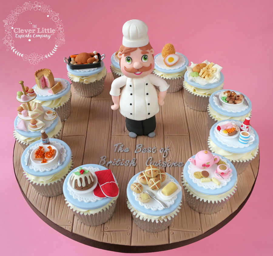Little Chef Cupcakes on Cake Central