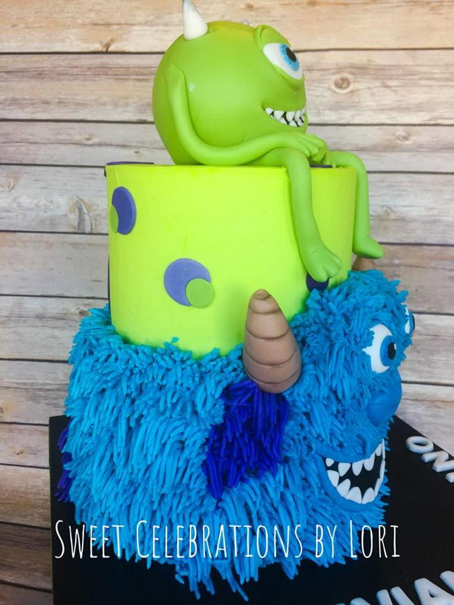 Monsters Inc Birthday Cake CakeCentralcom