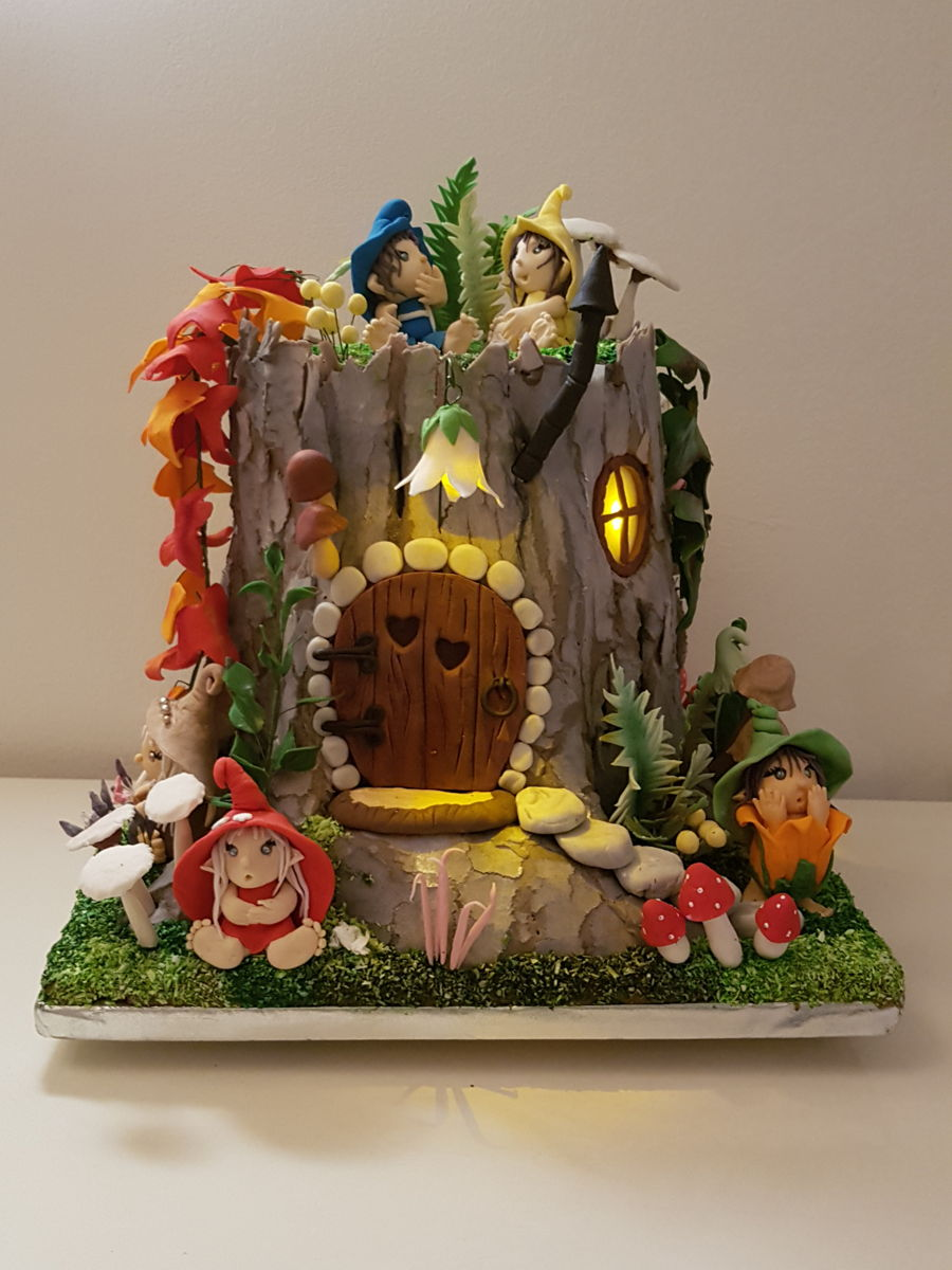 Old Stump Secret Fairy Tale Cakecentral Com