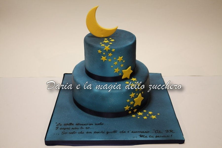 Star Galaxy Cake on Cake Central