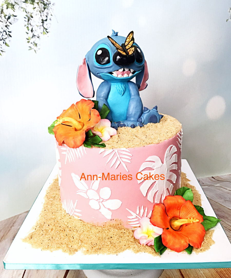 Stitch Birthday Cake Image Cake Recipe