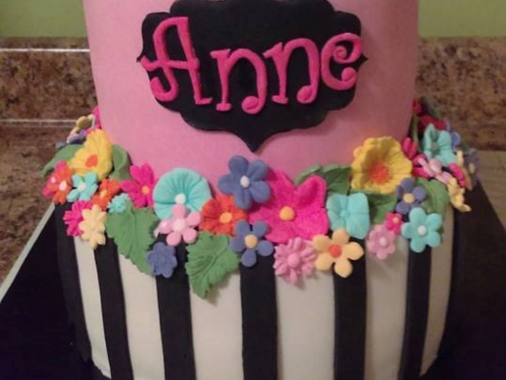 Annes 60Th Birthday Party Cake