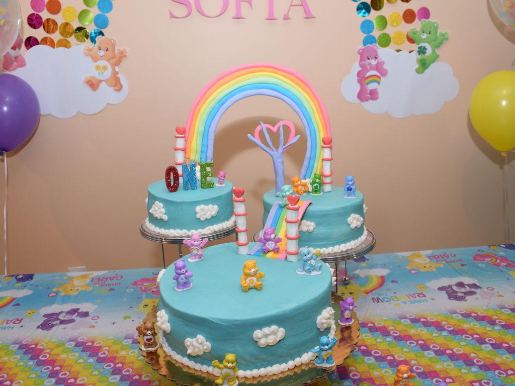 Care Bear First Birthday Cake - CakeCentral.com
