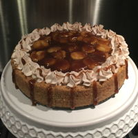 Bananas Foster Cheesecake Bananas Foster Cheesecake