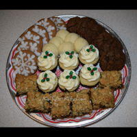 Christmas Sweets Trays These trays of sweets were by request from a local doctor and was my largest single order to date. It was a last minute order so I told her...