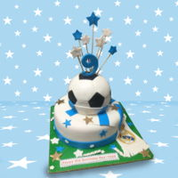 Football Birthday Cake Football Birthday Cake