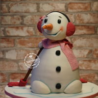 Snowman girly snowman for a little two year old