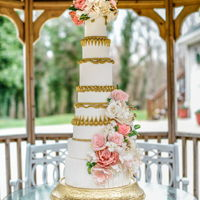 Sweet Marie I created this wedding cake for a Marie Antoinette inspired wedding shoot. The cake features the creative cake system molds by Ceri...