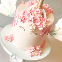 Unicorn Dripcake Girly cake