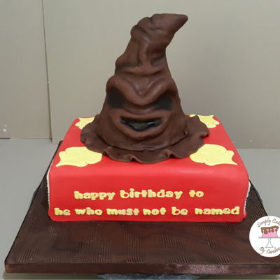 Harry Potter Sorting Hat And Book For A Mirfield Customer. Harry Potter sorting hat and book for a Mirfield customer.