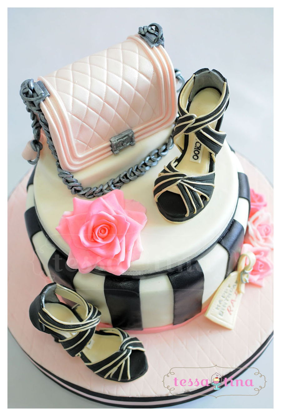 Bag And Shoes Cake on Cake Central