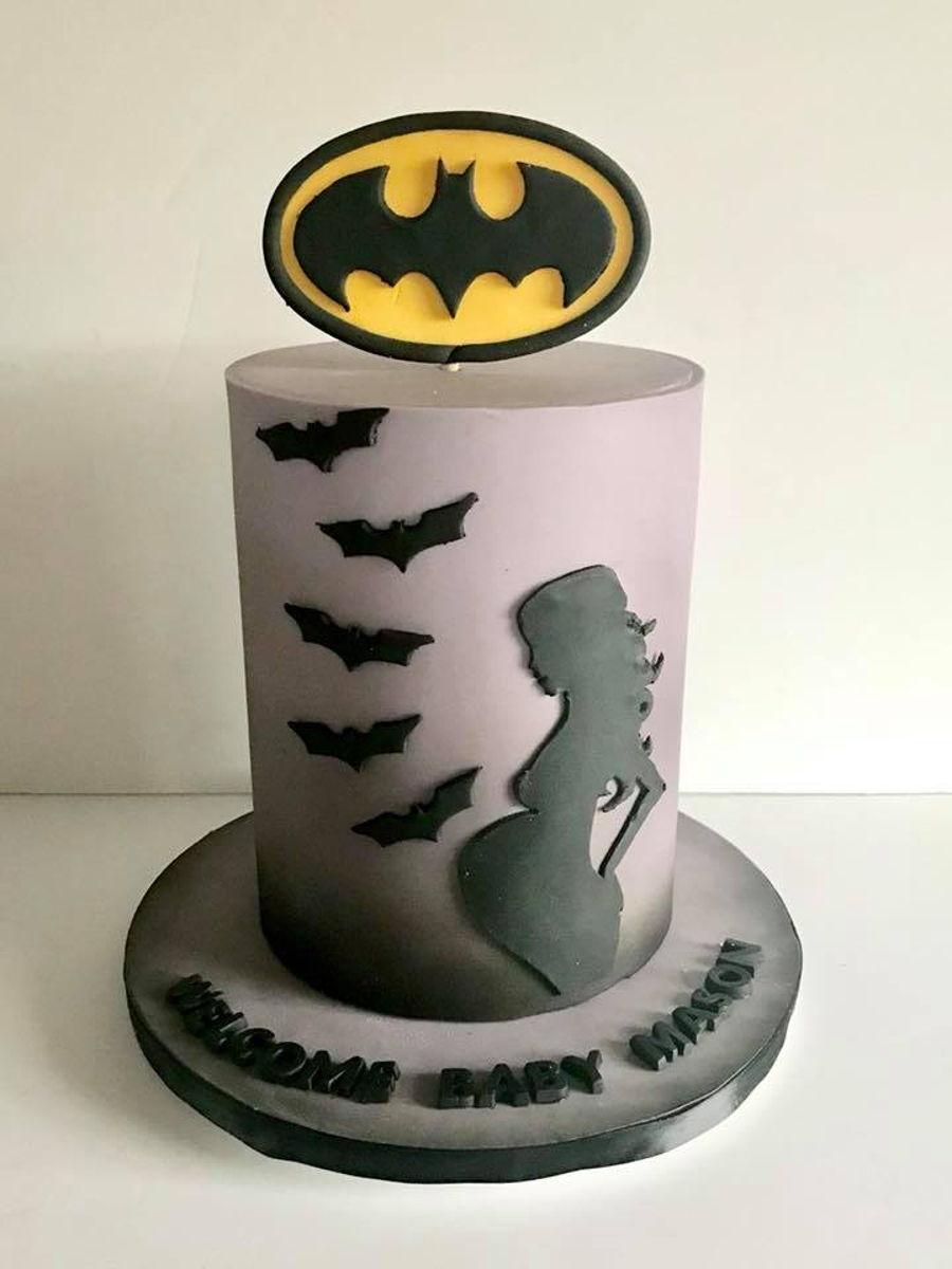 Good Batman Baby Shower Cake On Cake Central