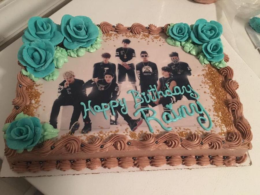 Glitter Birthday Cake Ideas