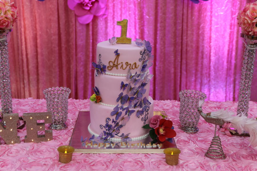Butterfly Theme Cake CakeCentralcom