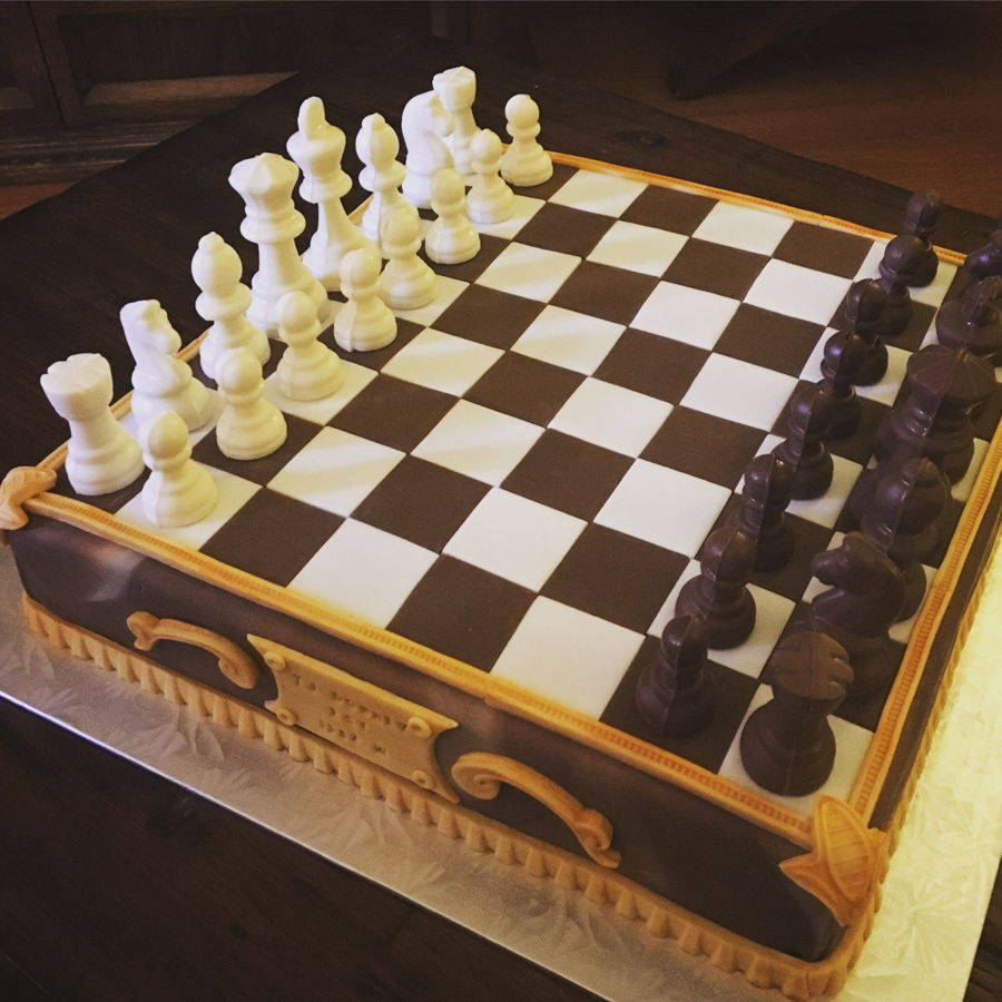 Chess Board Cake Ideas