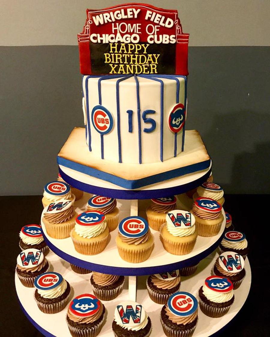 Fine Chicago Cubs Cakecentral Com Funny Birthday Cards Online Ioscodamsfinfo