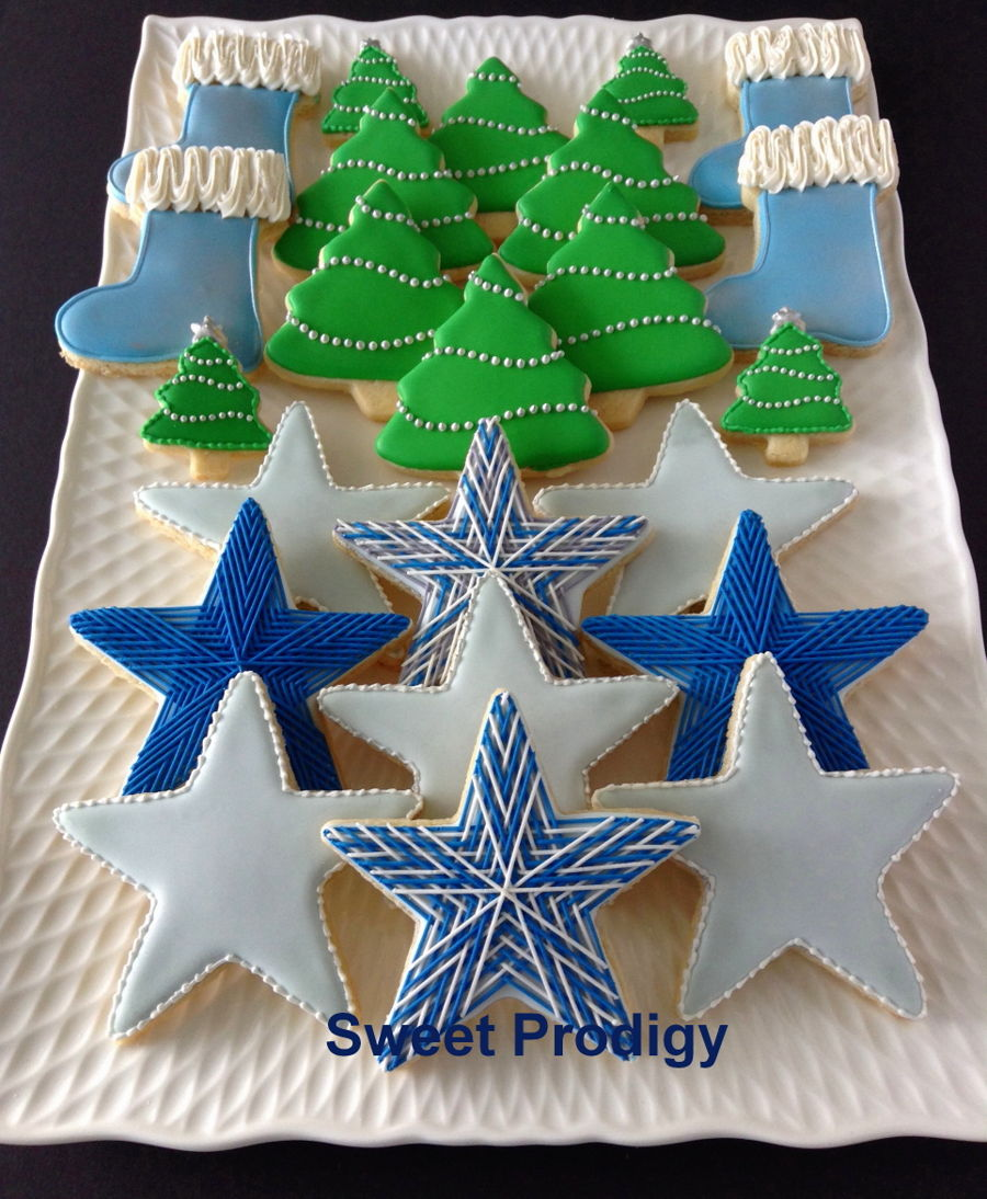Christmas Platter | Sweet Prodigy on Cake Central