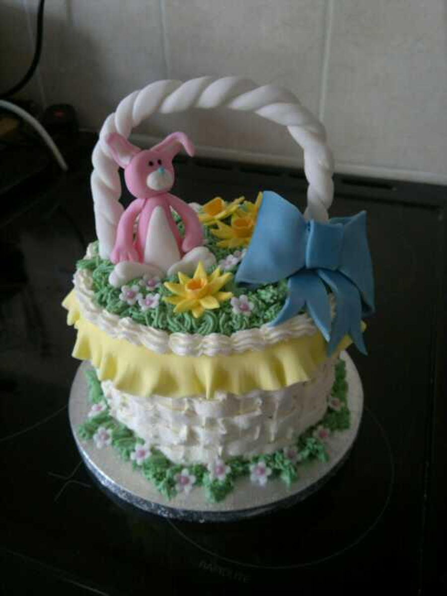Easter basket cake cakecentral easter basket cake on cake central negle Gallery