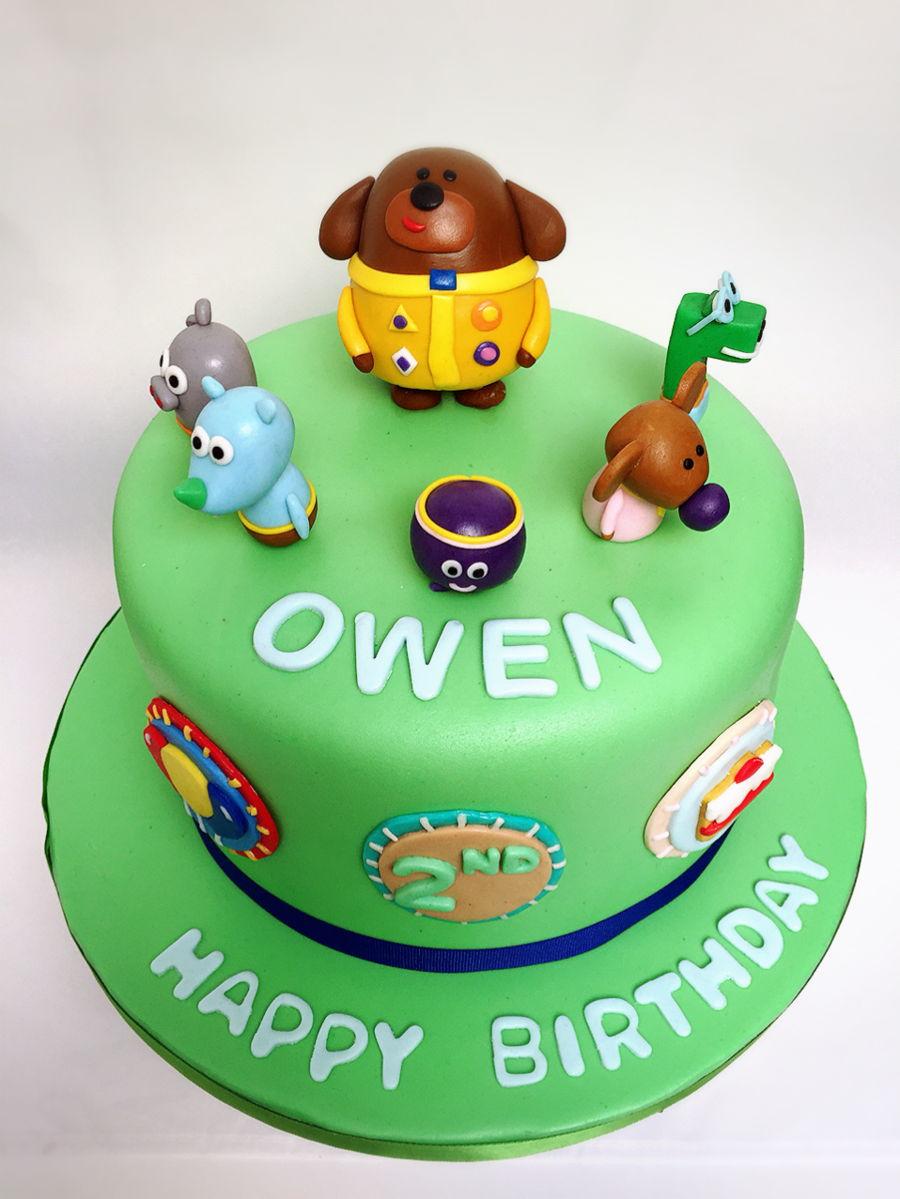 Hey Duggee Birthday Cake Cakecentral Com
