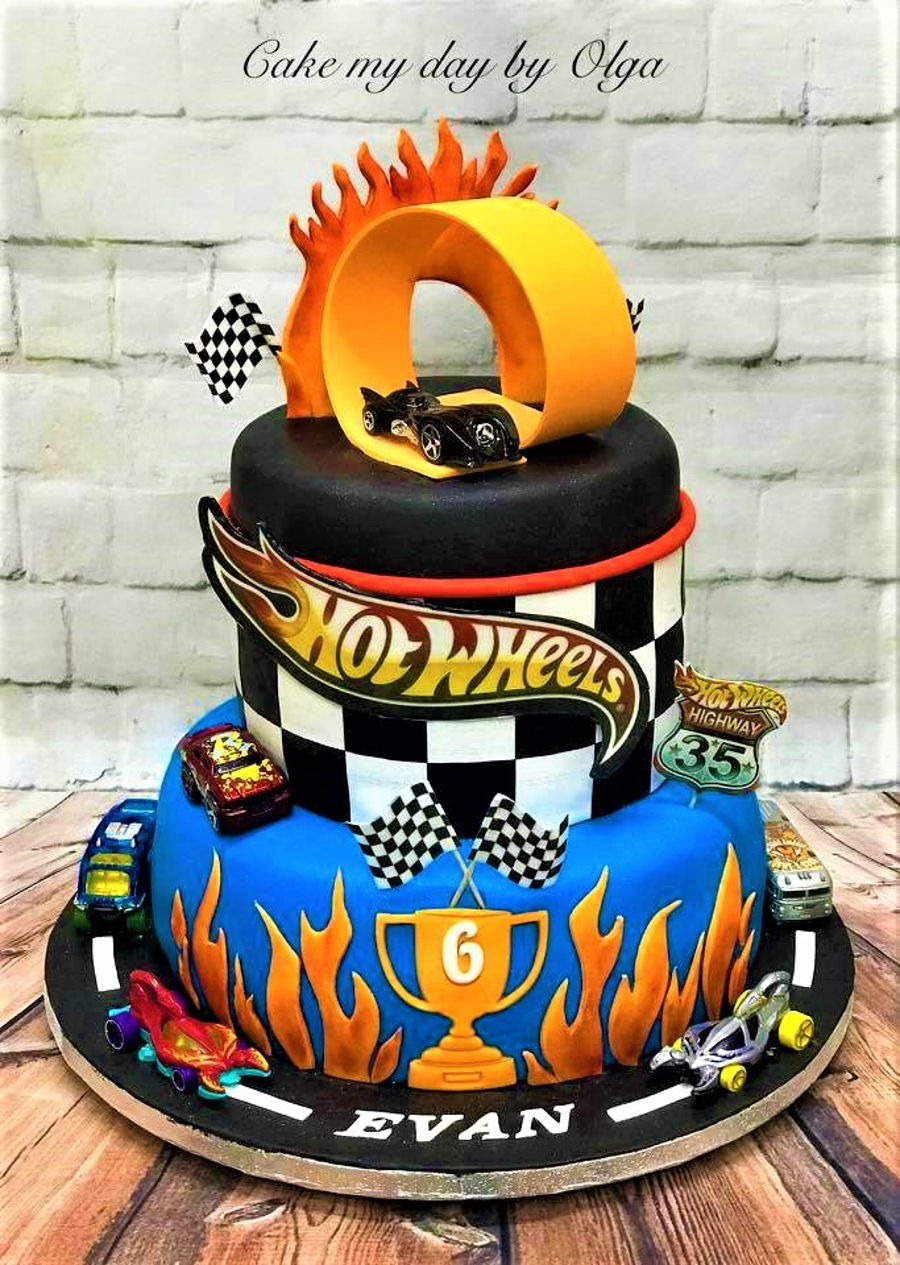 hot wheels cake wheels birthday cake cakecentral 4862