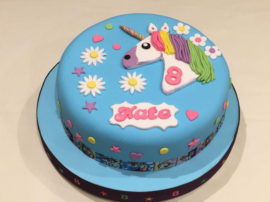 Kates Unicorn 8th Birthday Cake Cakecentral