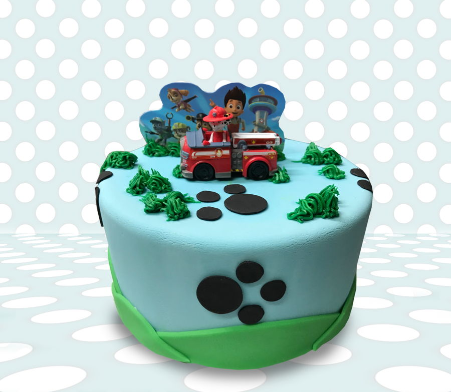 Paw Patrol Dots on Cake Central