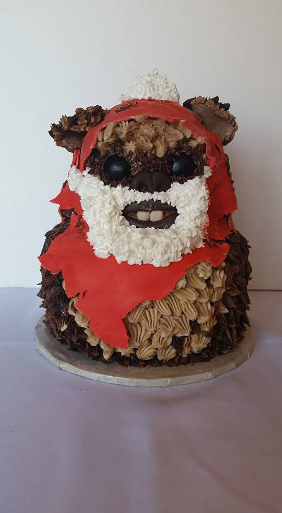Santa Wicket on Cake Central