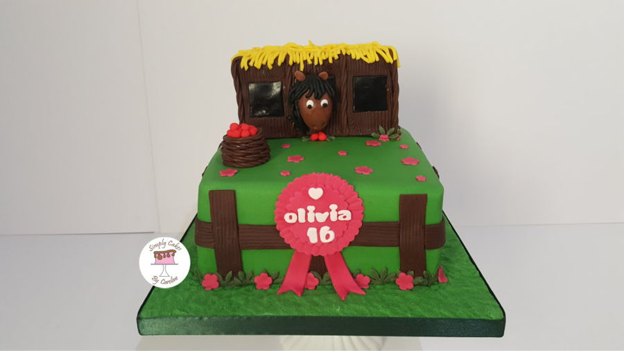 Stable Cake For A Mirfield Customer on Cake Central