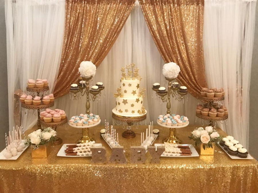 Twinkle Twinkle Baby Shower Sweet Table Cakecentral