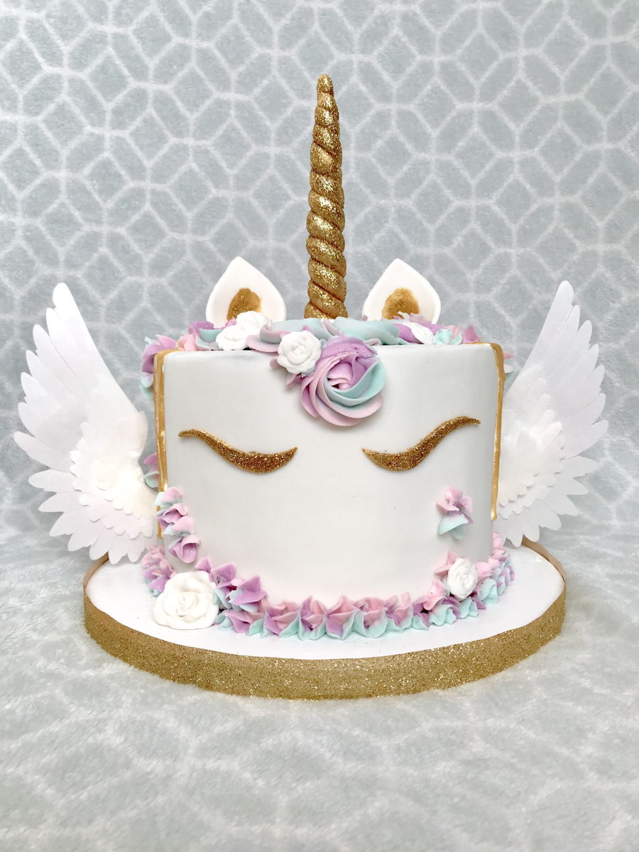 How To Make Unicorn Wings For A Cake