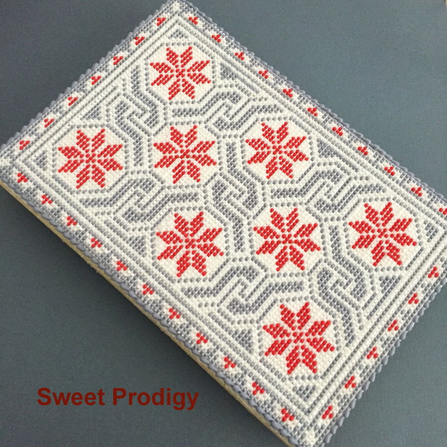 Winter Blanket / Sweet Prodigy on Cake Central