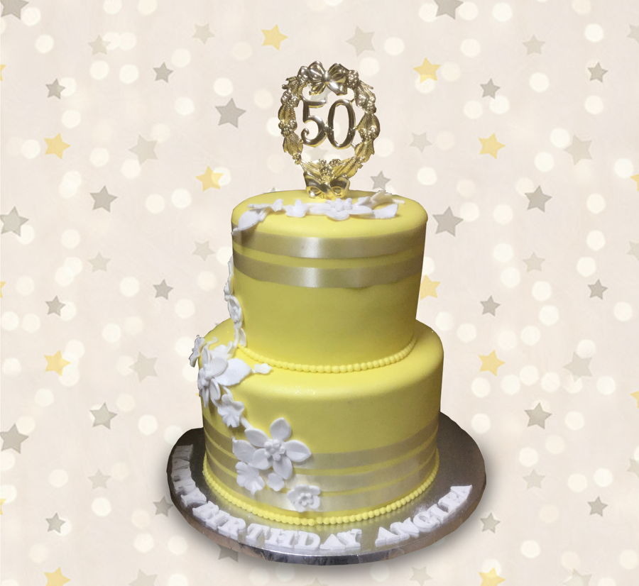 Yellow 50 on Cake Central