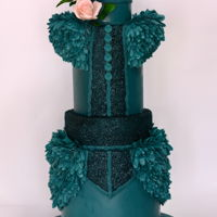 Emerald Birthday cake for a special lady <3