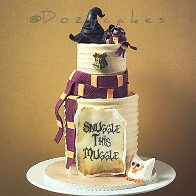 Harry Potter Snuggle Cake By Dozycakes