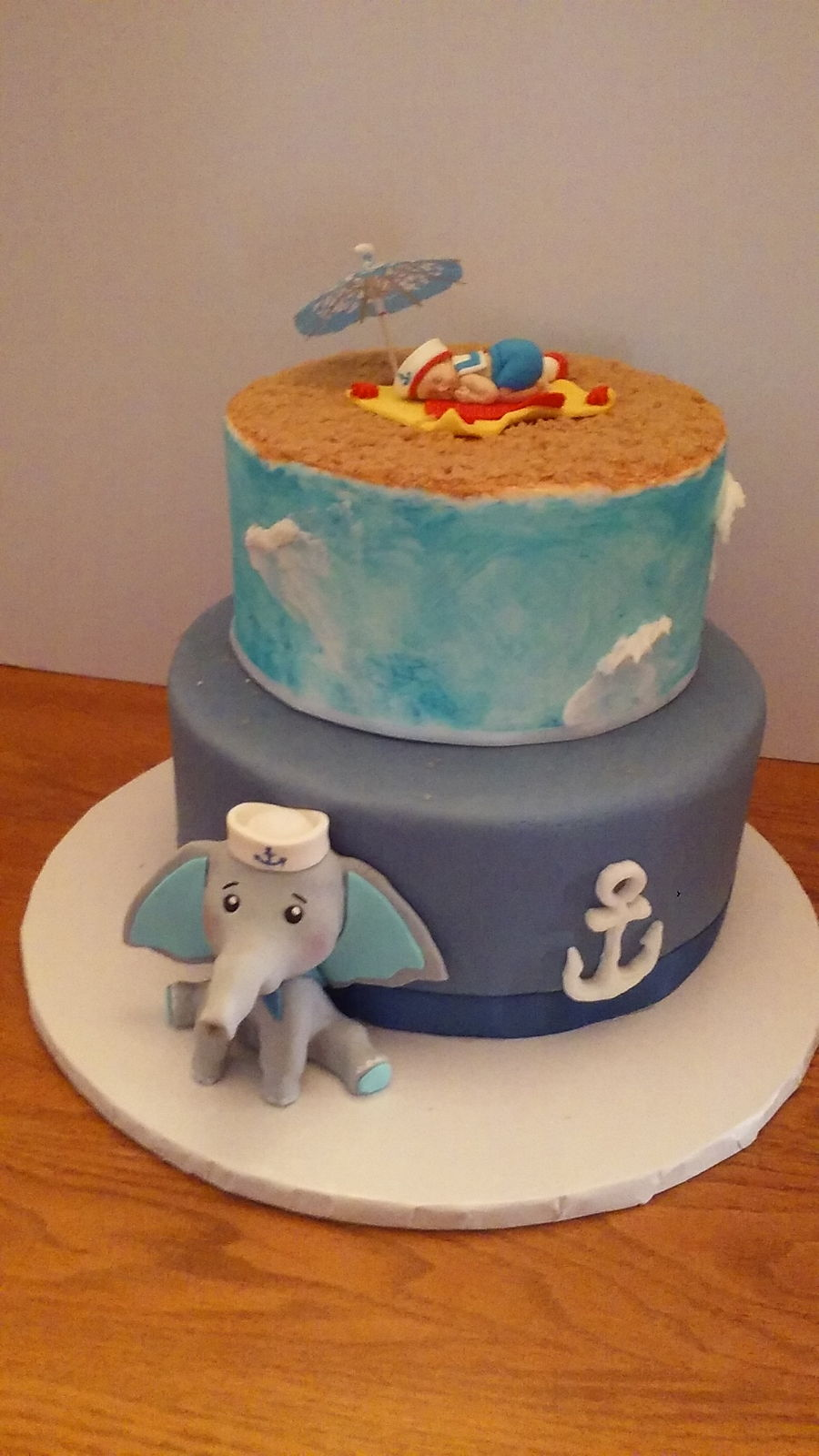 Baby Sailor Boy on Cake Central