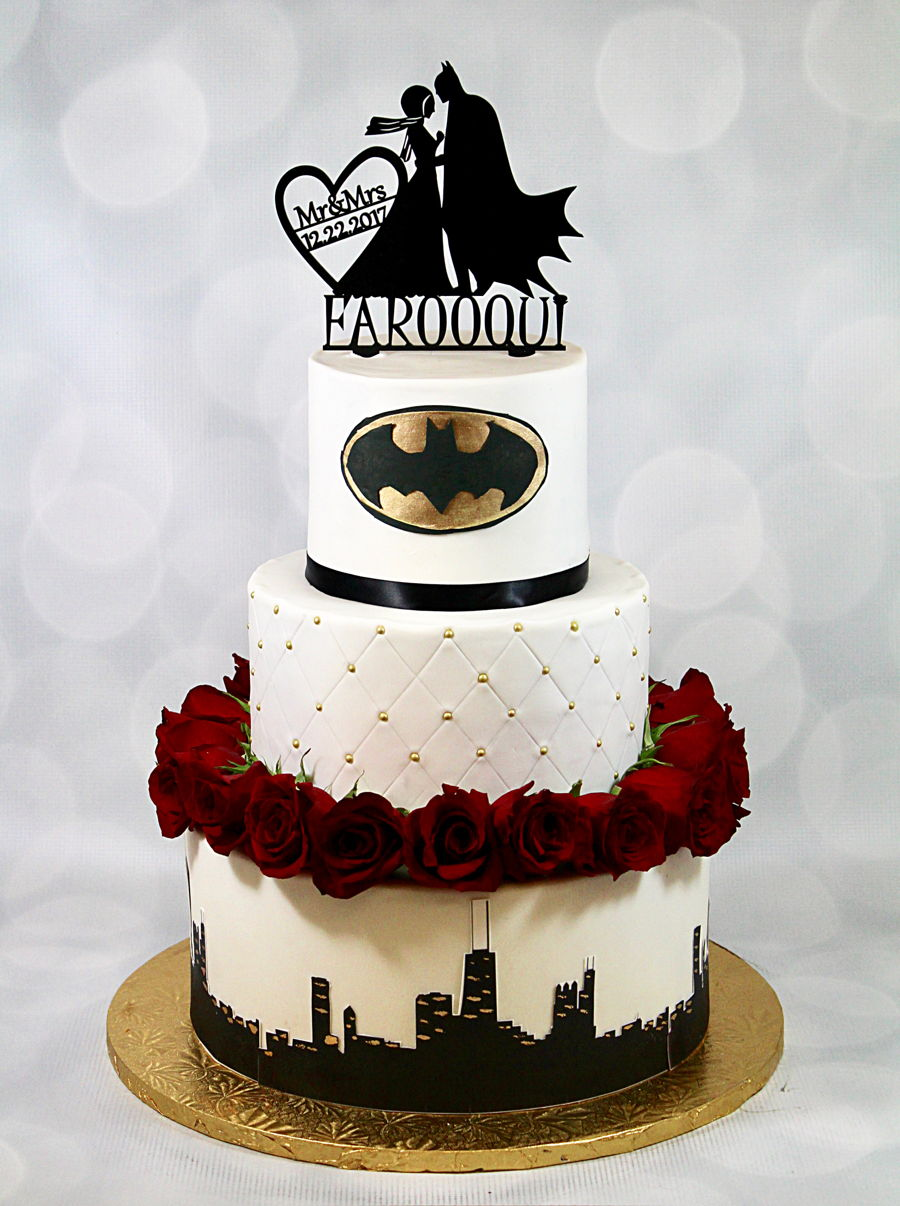 batman wedding cake - Wedding Decor Ideas