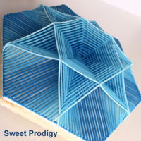 "Blue Star | Sweet Prodigy I saw some beautiful bowls online that were carved of wood and clay and wanted to create my own ""carved"" bowl because I..."