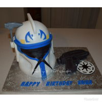 Captain Rex This was my 4th year making Ewan's birthday cake. It's always fun to learn what the theme will be. This year the request was for...