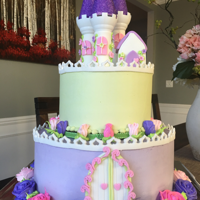 Castle Cake used wilton kit