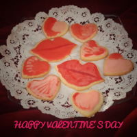 ❤️❤️ Happy Valentine'S Day ❤️❤️ Just some fun cookies I made for valentines celebration for my bible study ladies group.