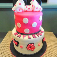 Minnie Mouse Minnie Mouse Birthday Cake